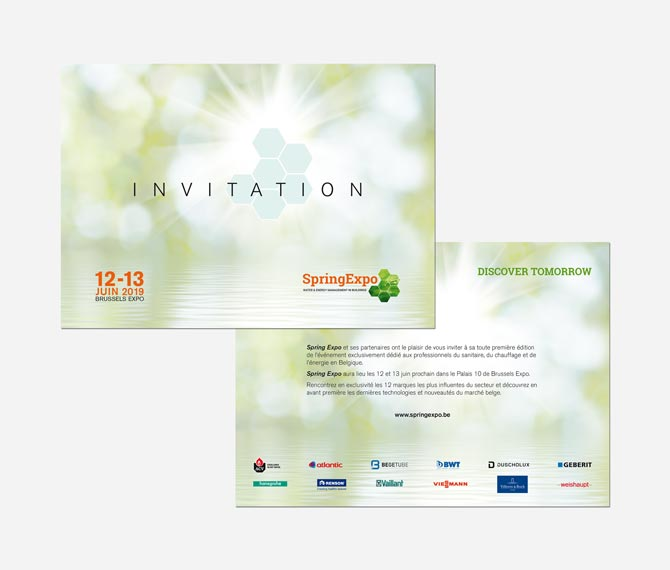 Invitation Spring Expo