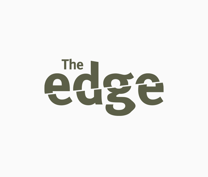 The Edge - logo couleur