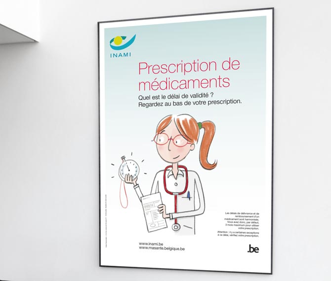 INAMI  - Prescription de m�dicaments